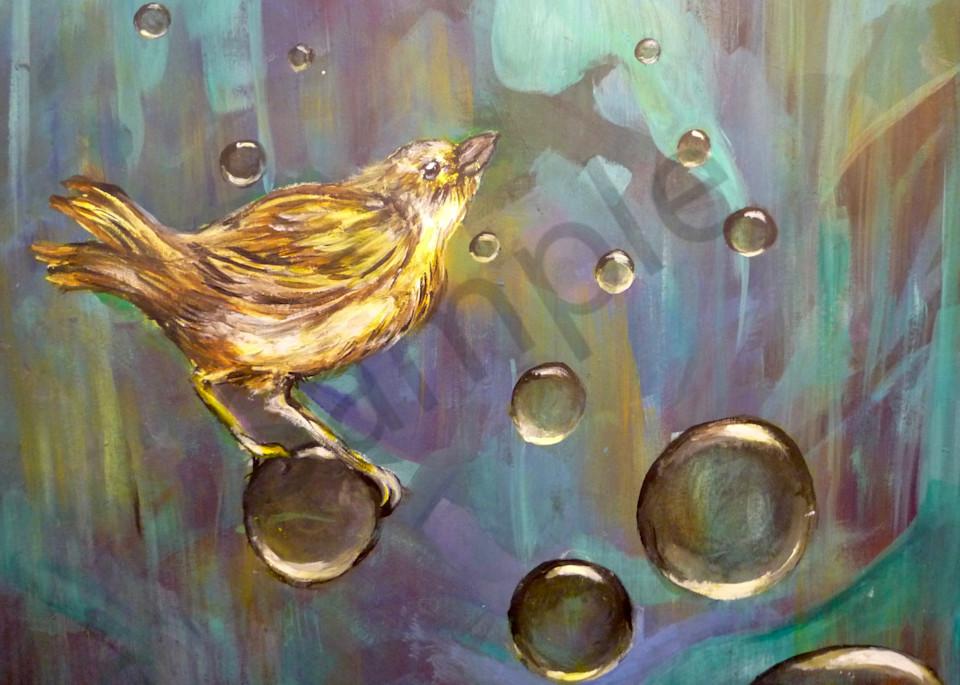 Bernie's Peace Bird Art   Art By Dana