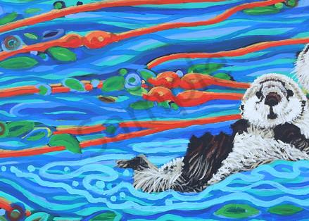 RC Otter/'s original painting