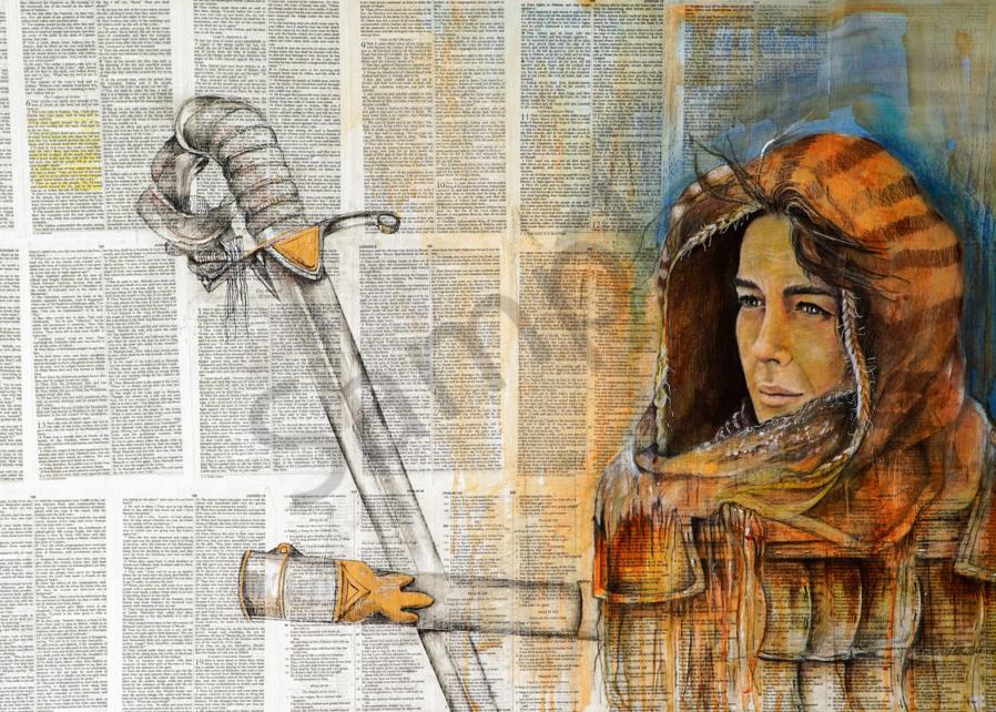 """""""Deborah: A Warrior"""" by Patti Hricinak-Sheets   Prophetics Gallery"""