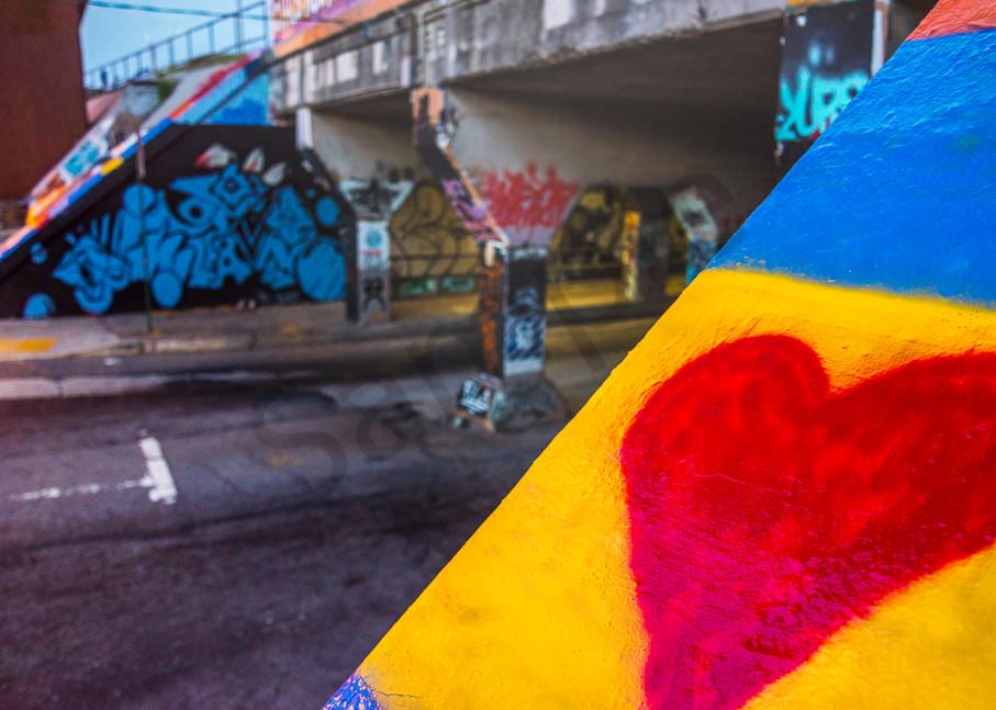 Street Heart | Susan J Photography | Atlanta fine art