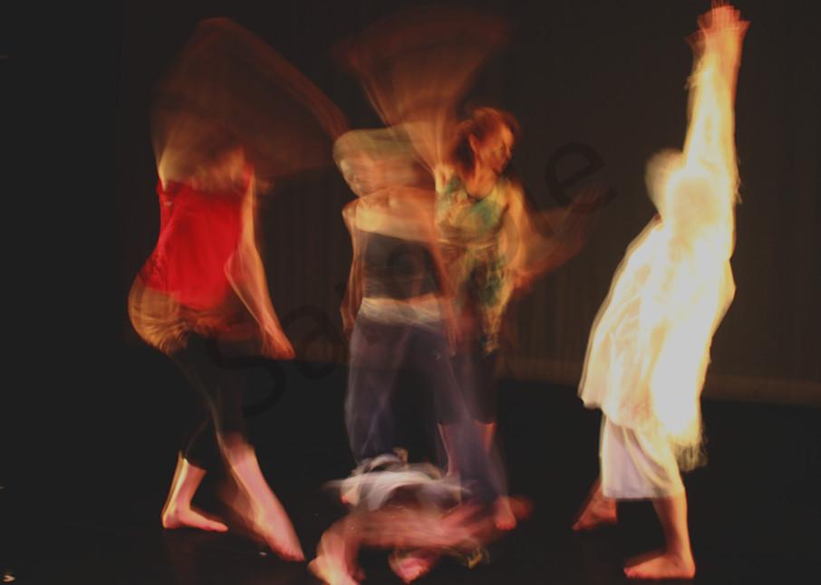 5 Dancers Circling  Art | toddbreitling