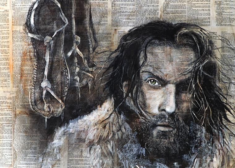 """John The Baptist"" by Patti Hricinak-Sheets | Prophetics Gallery"