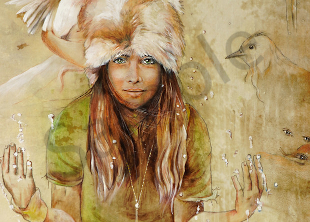 """Seven Eyes"" by Patti Hricinak-Sheets   Prophetics Gallery"