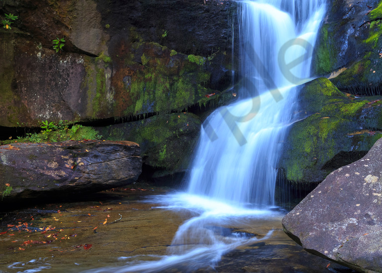 Waterfall Wall Art: Cedar Rock Falls
