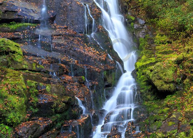 Waterfall Wall Art: Long and Lovely Eastatoe Falls