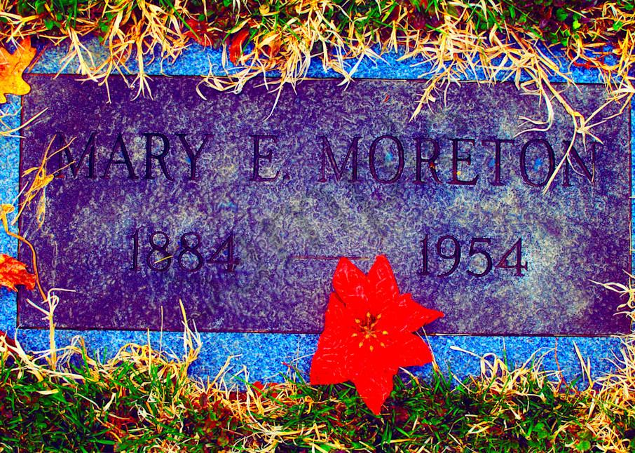 Mary E Moreton Gravestone  Art   toddbreitling