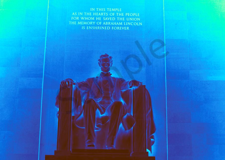 Abraham Lincoln Memorial Art   toddbreitling