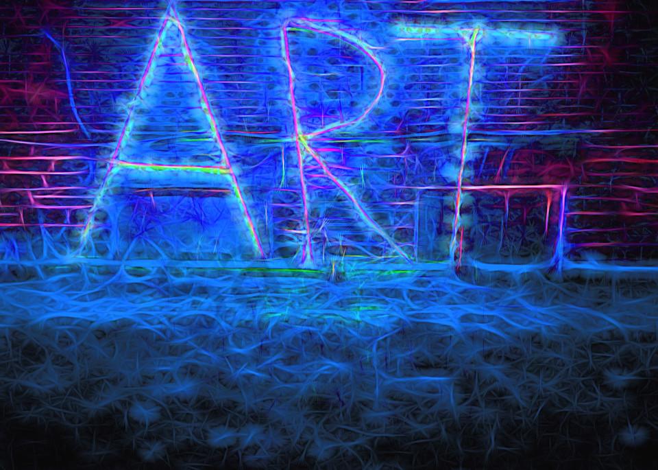 Art Sign At Night  Art | toddbreitling
