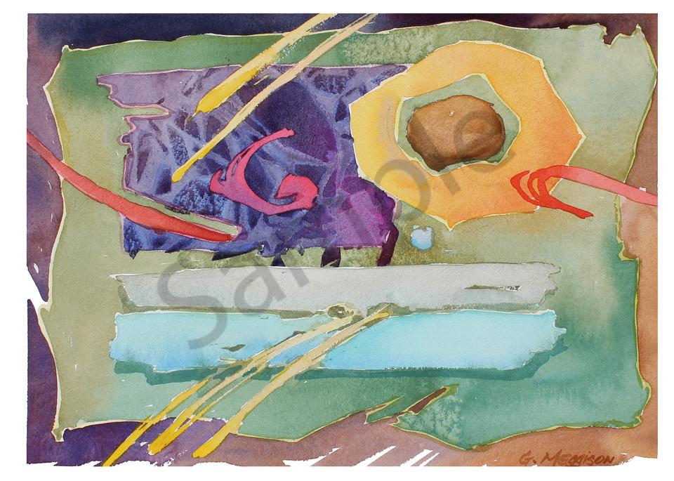 Personal Calligraphy | Abstract Watercolors | Gordon Meggison IV