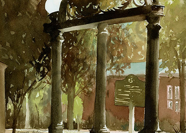 Uga Arch Ii Art | Digital Arts Studio / Fine Art Marketplace