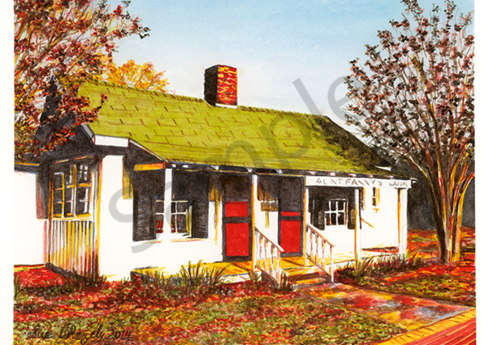 Aunt Fanny's Cabin Art | Digital Arts Studio / Fine Art Marketplace