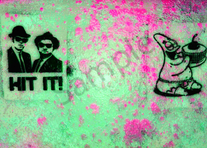 Blues Brothers Hit It|Fine Art Photography by Todd Breitling|Graffiti and Street Photography|Todd Breitling Art