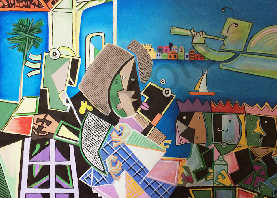 """Nativity"" by Humberto Rebollo   Prophetics Gallery"