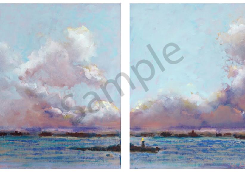 Clouds (Diptych) Art   Digital Arts Studio / Fine Art Marketplace