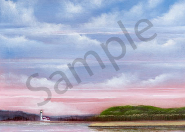 Fronza, seascape with lighthouse, scan, 4/4/13, 1:57 PM, 16C, 7168x10521 (1579+425), 150%, Repro 2.2 v2,  1/10 s, R97.1, G64.0, B75.6
