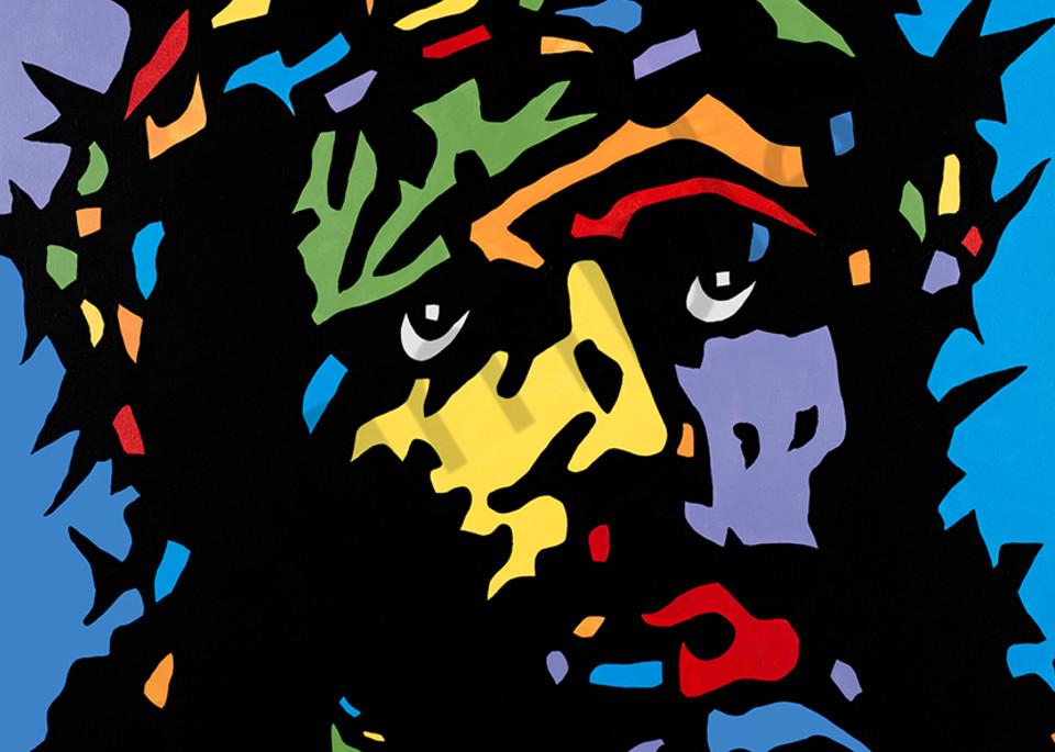 Jackson, Jesus Pop Art Scan