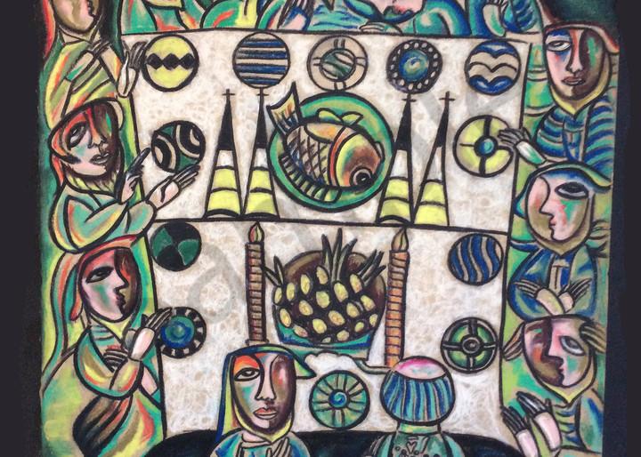 """The Last Supper II"" by Humberto Rebollo | Prophetics Gallery"