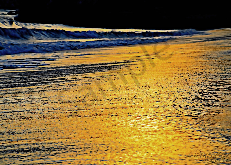 """REFLECT His Glory"" ~ digital painting"