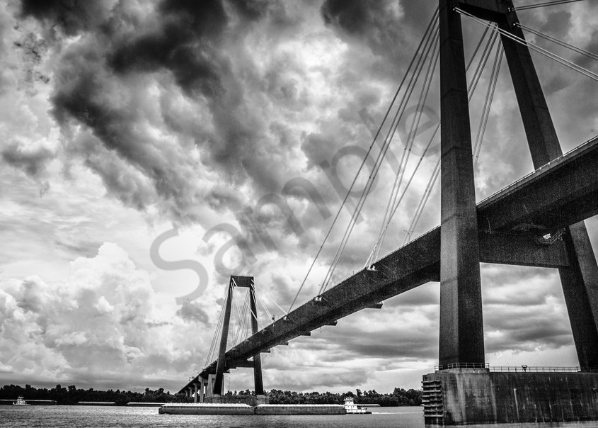 """Bridges"" by Texas Photographer Harold Vincent | Prophetics Gallery"