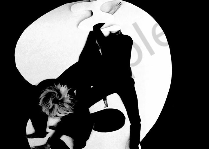 Odeta Xheka Visuals | Figurative black and white collage on paper