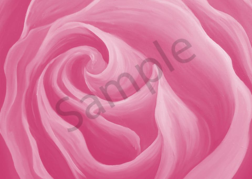 Pink Lace Rose  Art | Art By Dana