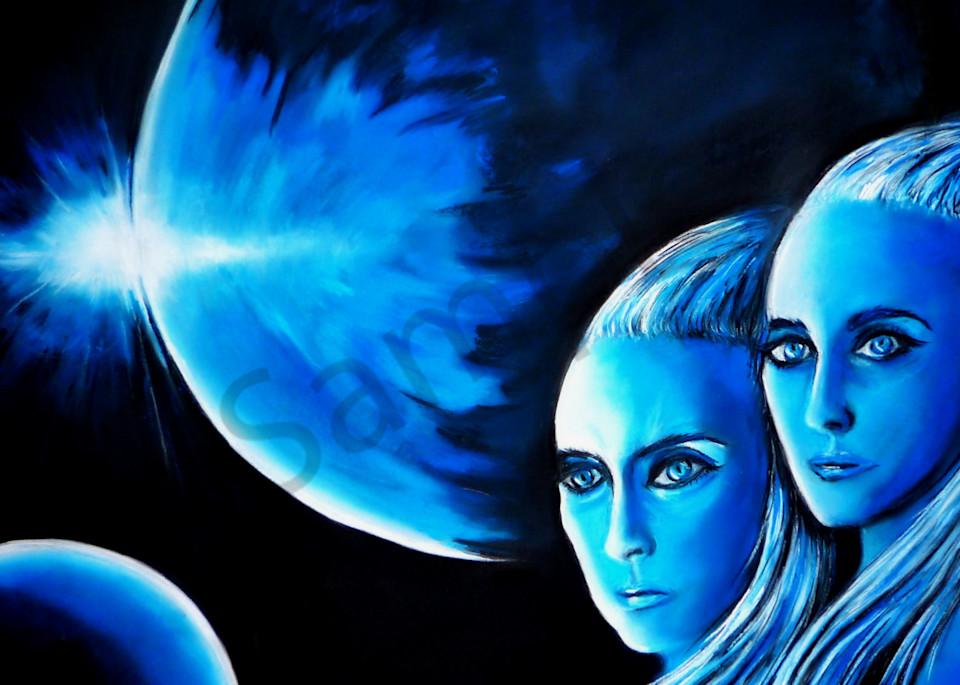 The Blue Planet Art   Art By Dana