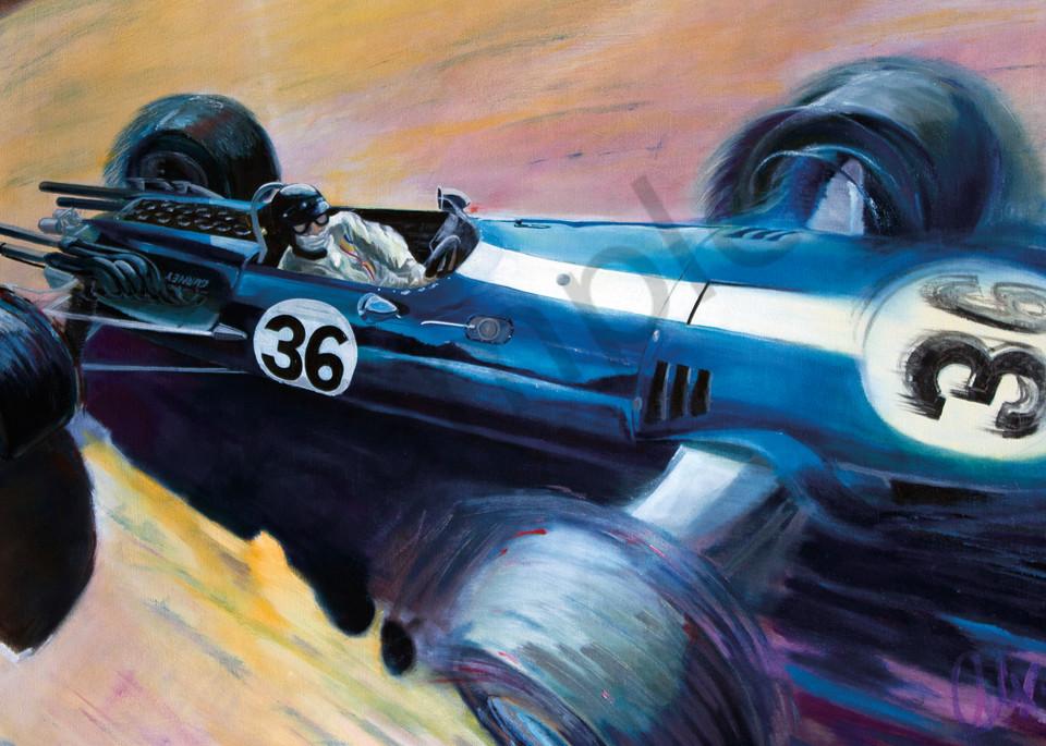 Dan Gurney – Spa-Francorchamps, Belgium GP '67