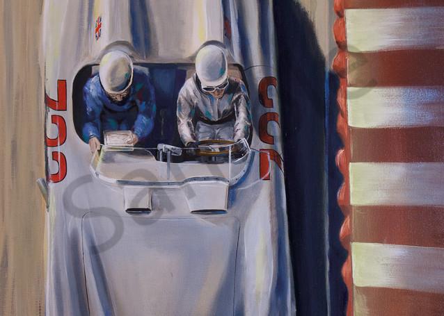 Stirling Moss & Dennis Jenkinson - Mercedes-Benz SLR