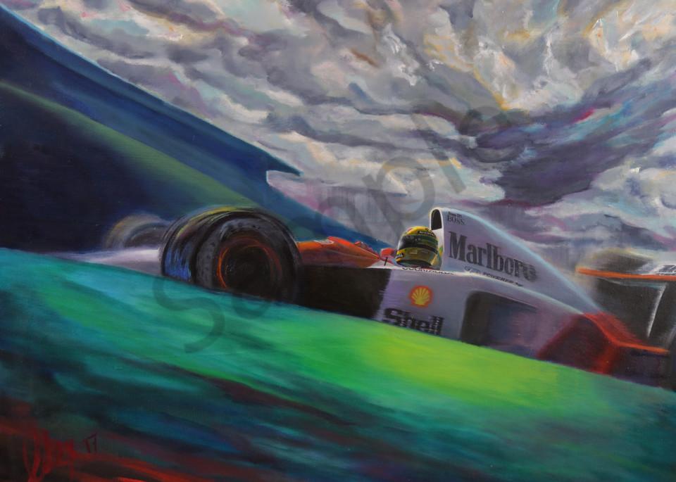 Interlagos '91   Ayrton Senna Art | Motorart 27