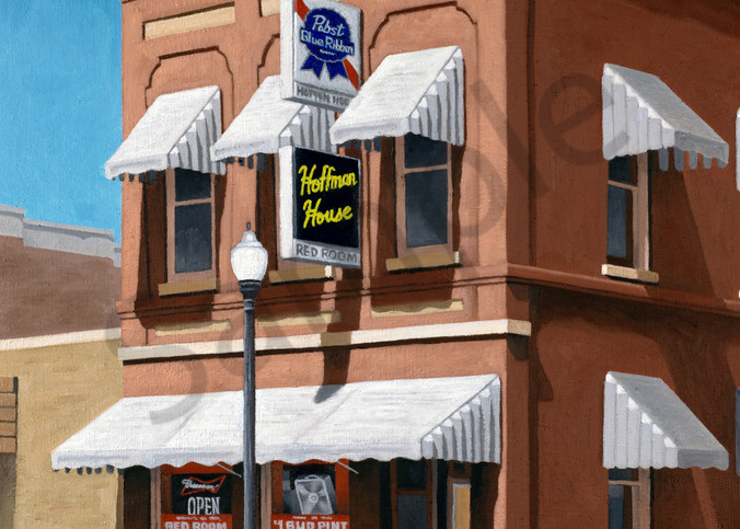 Afternoon at the Red Room | Sturgeon Bay, WI | Fine Art Print