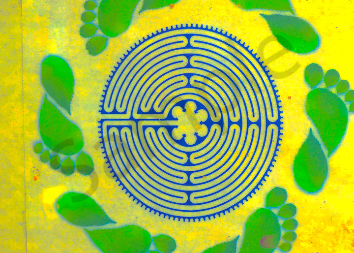 Footsteps in the Maze Original photography by Todd Breitling