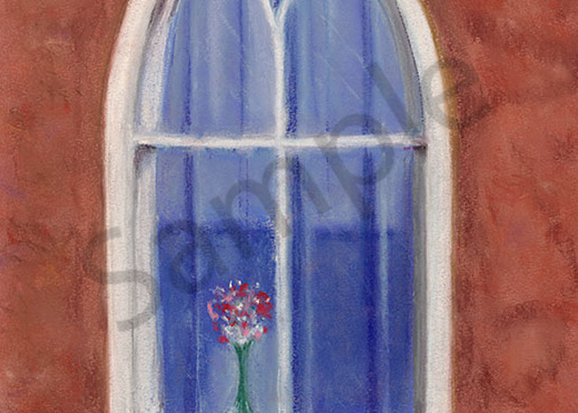 """""""Mission Window"""" fine art print by Mary Anne Hill."""