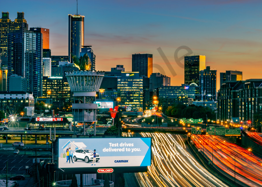 Billboards and Light Trails | Susan J Photography