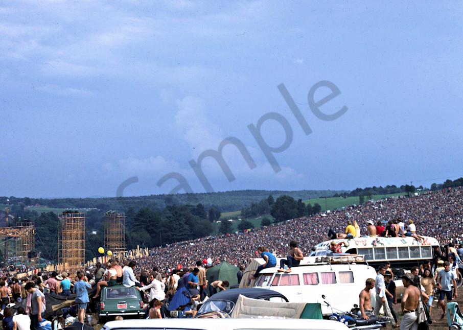 015 Woodstock Crowd Art | Cunningham Gallery