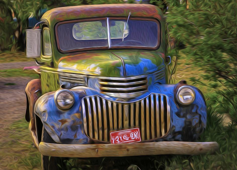 Old Trucks - shop art/Masonandmasonimages.com