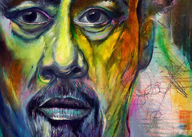 """Mingus"" fine art print by Peter Koury."
