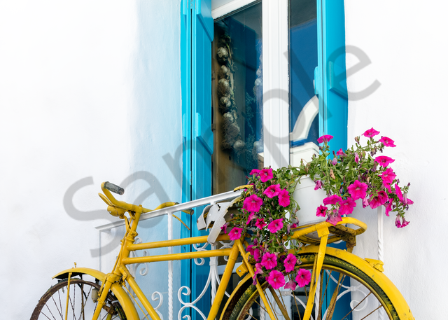 Hanging Bicycle  Photography Art | Images by Louis Cantillo