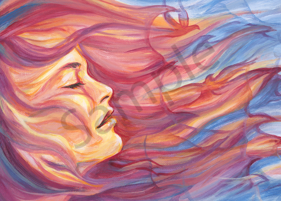 """Be Free"" by Melani Pyke | Prophetics Gallery"