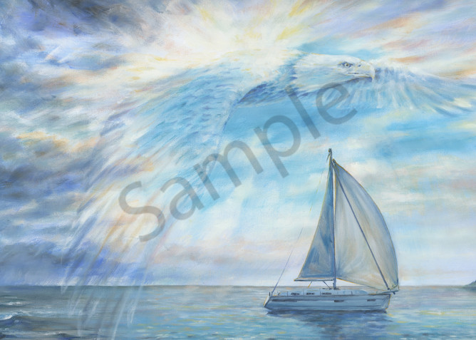 """Guardian Eagle"" by Melani Pyke   Prophetics Gallery"