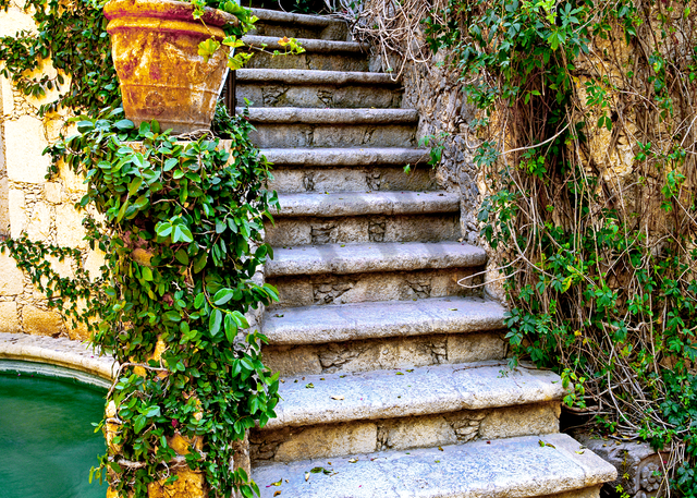 Hidden Staircase  Photography Art | Images by Louis Cantillo