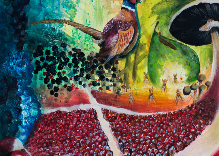 """""""Bringing In The Harvest"""" by Yvonne Coombs 