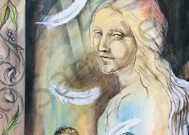 """Behold"" by North Carolina artist Patti Hricinak-Sheets 