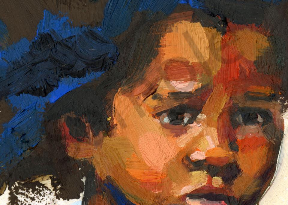 Fine Art Print: Korsou Girl Art | Bianca Berends