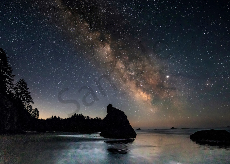 Pnw Ruby Beach Milky Way 1 Photography Art | John Martell Photography