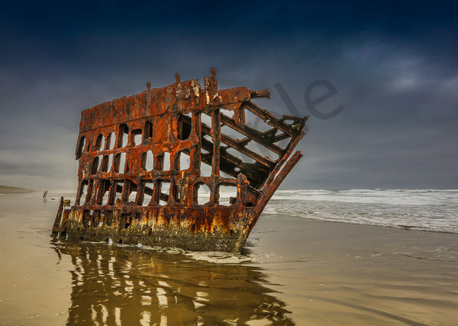 Pnw Wreck Of Peter Iredale 1 Photography Art | John Martell Photography