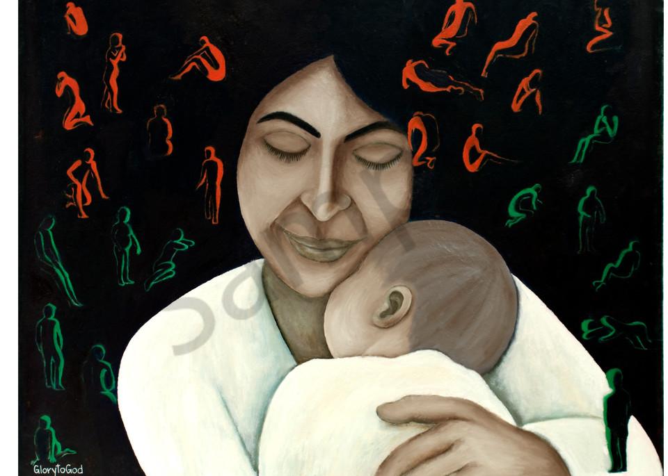 """""""Unconditional Love"""" by Ilaisa Latu / Prophetics Gallery"""