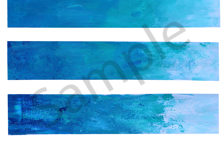 Blue Wave Art | Art By Dana