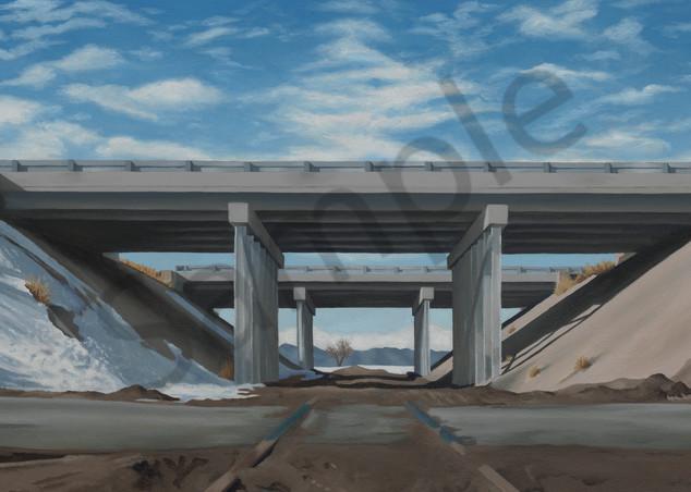 Railroad Tracks & Bridges | Colorado | Original Painting & Art Prints