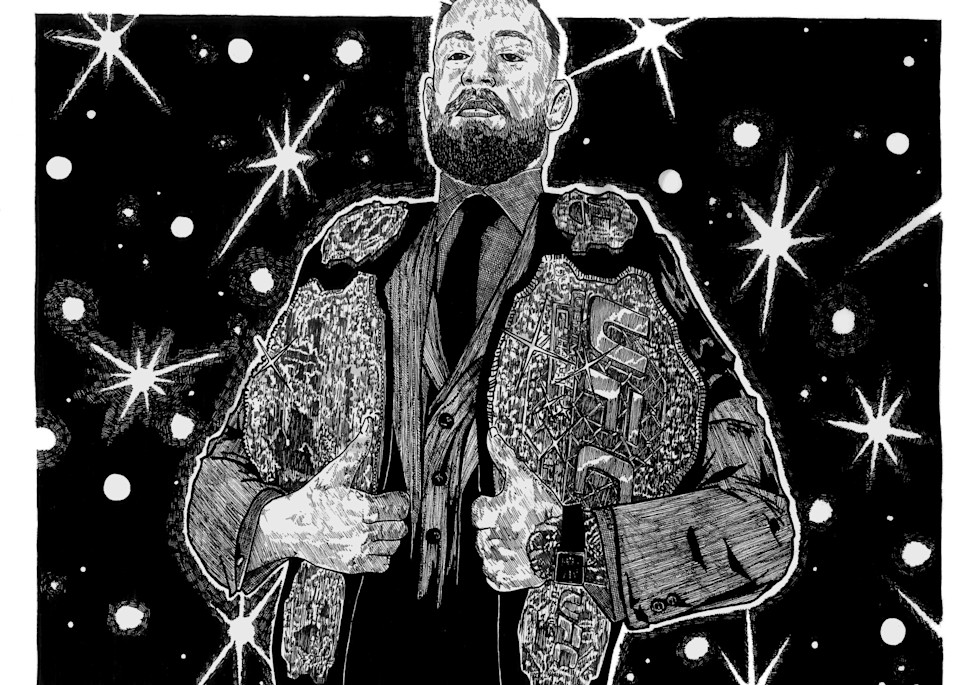 Conor McGregor holding both titles