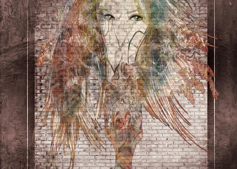 """Wisdom Lady"" by Virginia Digital Artist John W. Lewis   Prophetics Gallery"